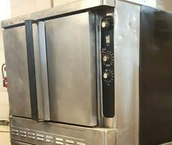 Natural Gas W/ 3 Oven Racks Blodgett Dfg-100 Convection Bakery - Good Working