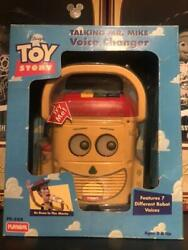 Toy Story Talking Mr. Mike Voice Changer 1996 Disney From Playskool