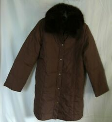 Article Womenand039s Modern Vail Parka Coat Brown Size M - Free And Fast Shipping