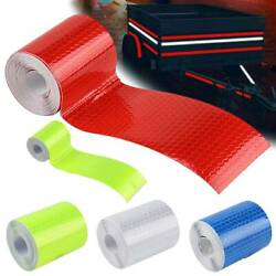 Car Truck Reflective Self Adhesive Strip Tape Safety Warning PVC Decal Sticker