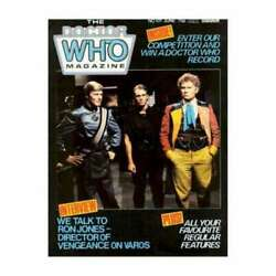 Doctor Who Magazine 101 In Near Mint Minus Condition. Marvel Comics [8w]