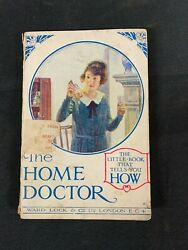 The Home Doctor Ward Lock And Co 1920s Medical Pharmaceutical Vintage O272