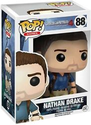 Funko Nathan Drake Uncharted 4 Pop Games Vinyl Figure New Boxed 88