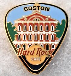 HARD ROCK CAFE BOSTON CITY GUITAR PICK SERIES WITH FANEUIL HALL PIN # 19962