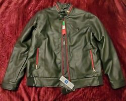 Bottega Veneta Mens Leather Jacket Xl New With Tags Bv Clothing Collection