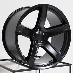 4-new 20 Rep Hellcat Widebody Style Fit Charger Challenger Wheel 20x9.5 5x115 1