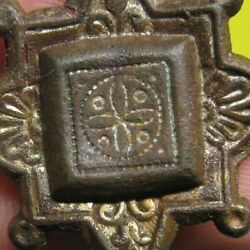 Authentic Medieval Knights Templar Cross Medal Relic Amulet Old Crusader Times