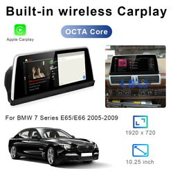 8-core Android Car Gps Stereo Navigation Wireless Carplay For Bmw 7 Series E65