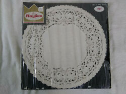Vintage Roylies 12 Inch Paper Doilies White Large