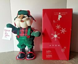 Avon Groovy Dancing African-american Santa Avon, 2004 Tested/includes Box