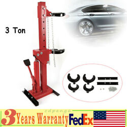 3ton Auto Strut Coil Spring Compressor System Tool Disassemble 7-hole Adjustable