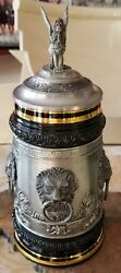Thewalt - Lion Stein - New - Made In Germany - Limited Edition - Stein 1180