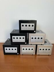 Nintendo Gamecube Console Region Change Switch Mod Us/jp Black/silver