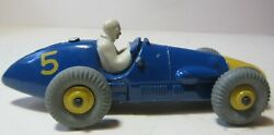 Dinky Toys 1950and039s Ferrari Grand Prix Racing Car - 1950and039s Dinky Toy Racing Cars
