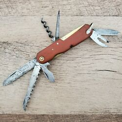 1930s Abercrombie And And Fitch Co Wenger Tahara Swiss Army Officers Knife 20s