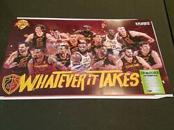 Cleveland Cavaliers Lebron James Photo Poster Autograph Hand Signed