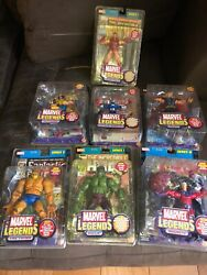 2002 Marvel Legends Series 1, 2 And 3 Plus One Modok Series Mixed Lot