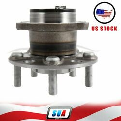 Rear Fits Dodge Avenger 2008 Wheel Hub And Bearing Assembly 5 Lugs W/abs New