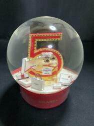 Electric Snow Globe Dome No.5 Usb Rechargeable New