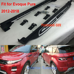 Running Boards Fit For Range Rover Evoque Pure 2012-2018 Side Step Bar Pedal Bar