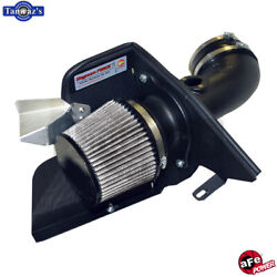 Afe Air Intake System W/ Pro Dry S Filter Media For 2001-06 Bmw 3-series Black