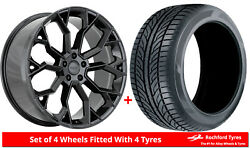 Alloy Wheels And Tyres 22 Velare Vlr15 For Audi A8 [d4] 09-17