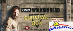 2016 Topps The Walking Dead Survival Factory Sealed Hobby Box-4 Hits