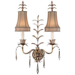 Fine Art Lamps 409050-1st Pastiche Collection Two Light Wall Sconces