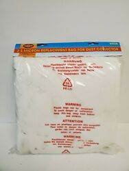 New Old Stock Shop Fox 2.5 Micron Replacment Bag For Dust Collector D3116
