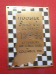 Rare 1954 Who's Your Sports Car Classic Atterbury Air Force Base Columbus Ind