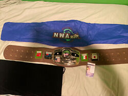 Signed Authentic Ric Flair Nwa World Heavyweight Championship Replica Belt