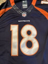 Peyton Manning Denver Broncos Nike On Field Nfl Players Jersey 2012 Size Xl New