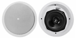 2 Control 26c 6.5 150 Watt In-ceiling White Home Theater Speakers 16-ohm