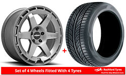 Alloy Wheels And Tyres 19 Rotiform Kb1 For Infiniti M45 [mk2] 04-10