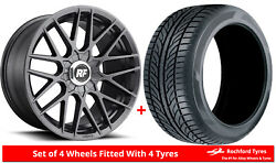 Alloy Wheels And Tyres 18 Rotiform Rse For Infiniti M25 11-13