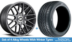 Rotiform Winter Alloy Wheels And Snow Tyres 18 For Infiniti M45 [mk1] 03-04
