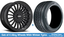 Rotiform Winter Alloy Wheels And Snow Tyres 19 For Volvo Xc90 [mk2] 14-20
