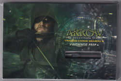 Arrow Season 3 Oversized Prop Card Vc3 A Piece Of Oliver Queenand039s Arrow 07/18