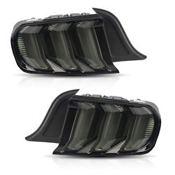 Free Shipping To Pr For 15-20 Mustang Sequential Smoke Full Led 5modes Taillight