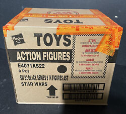 Star Wars Black Series First Edition White Box Sealed Case Of 8 Figures Hasbro