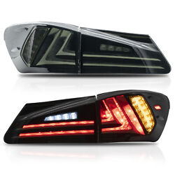 Free Shipping To Pr For 06-13 Lexus Is 250/350 08-14 Is F Smoke Led Tail Lights