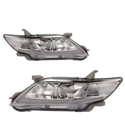 Customized Chrome Led Headlights With Drl Sequential For 10-11 Toyota Camry
