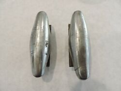 Vintage Pair Of 1920and039s 1930and039s Mini Bumper Guards 1930 1932 1933 Prewar Hot Rod