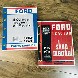 Ford 611 621 631 641 Workmaster Tractor Service Repair Shop Manual Parts Catalog