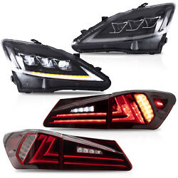 Free Shipping To Pr For 06-13 Is250/350 08-14 Is F Clear Headlight+red Taillight