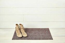 Chilewich Skinny Stripe Shag Mats Indoor/outdoor Slip Resistant