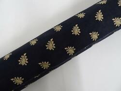 Les Olivades Provence Fabric 10 Yds Campano Black Floral Print 100 Cotton 59 W