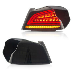 Free Shipping To Pr For 15-19 Subaru Wrx / Sti Smoked Led Tail Lights Sequential