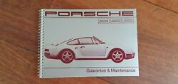 Oem Factory Porsche 959 Owners Manual Handbook Maintenance And Service Booklet