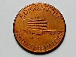 Edmonton Ab Canada Industrial Frontier Medal With Notable Rotated Die Mint Error